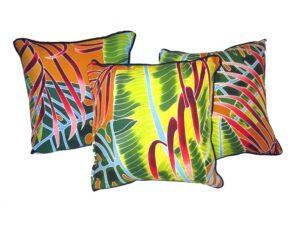 Fiesta Palms Rust - pillow