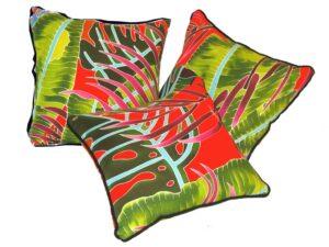 Fiesta Palms Orange - pillow