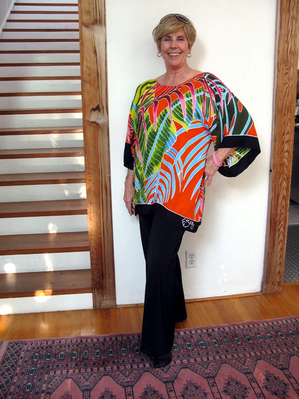 Fiesta Palms Orange Tunic