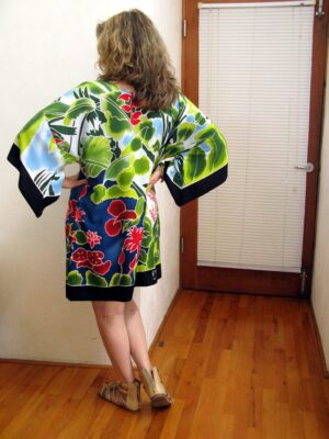 Dripping Mangoes Tunic Back