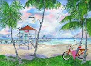 Bicycle to the Beach