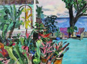 902-Bromeliads Porch