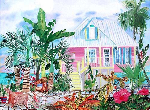 Pastel Salty Cottage