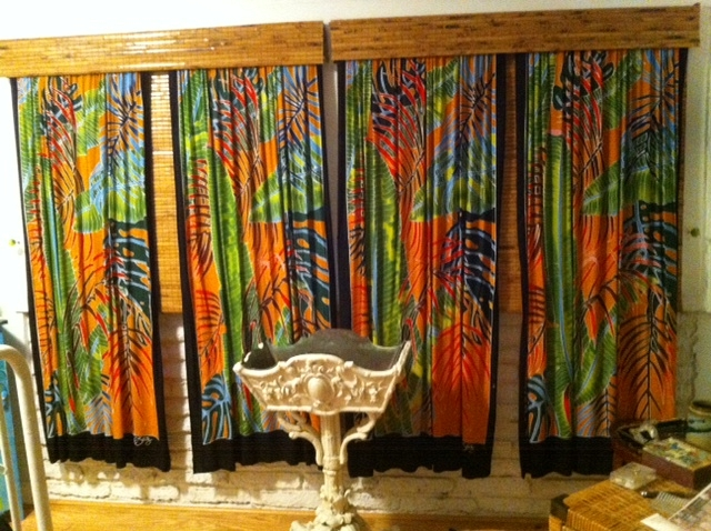 Fiesta Palms Curtain 5 panels