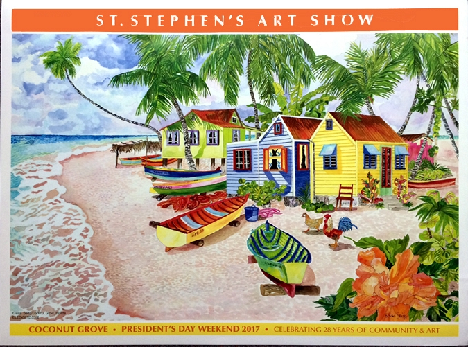 Fishing Boats at the Point St. Stephens 2017 Art Show