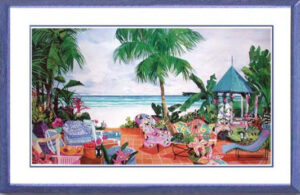 512-Gazebo Coast Framed
