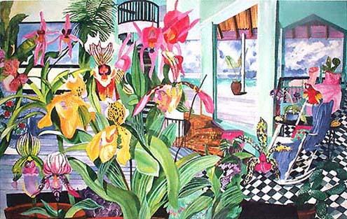 Orchids Interior